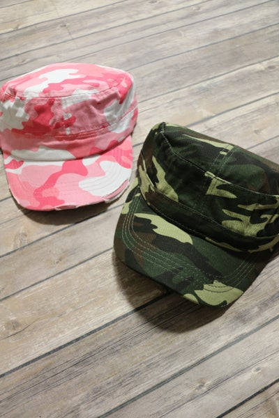 Cant See Me Military Style Hat In Multiple Colors