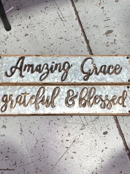 Combo Table Topper & Wall Sign with Multiple Sayings