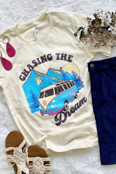 Chasing the Dream RV Graphic Tee Graphic Tee in Multiple Colors - Sizes 4-20