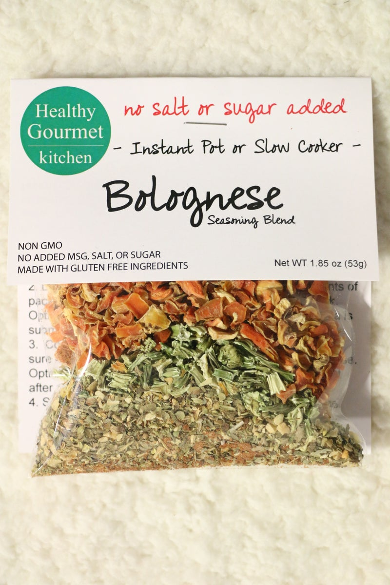 Bolognese Instant Pot or Slow Cooker Seasoning- 1.85oz *Final Sale*