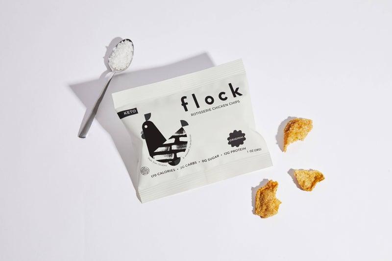 Flock Chicken Chips In Multiple Flavors *Final Sale*