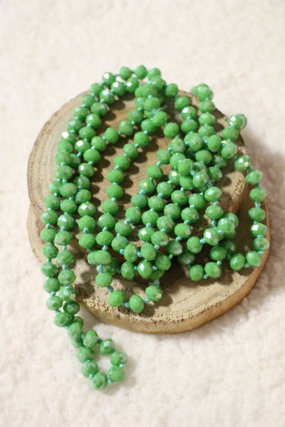 Fern Point Of Perfection Beaded Necklace