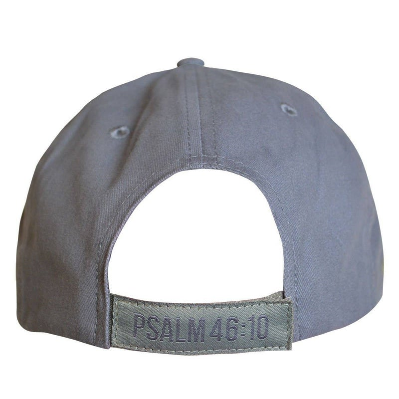 Be Still Mens Gray Cap - One Sie Fits Most