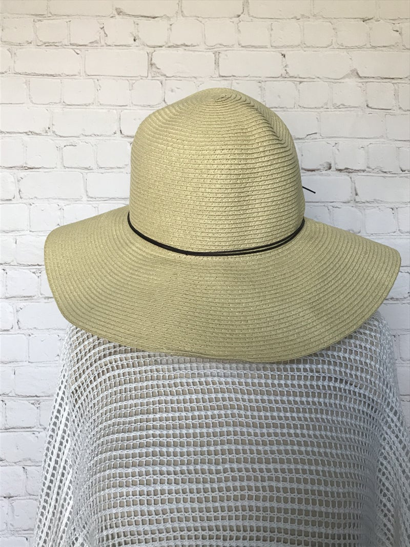 Breath of Fresh Air Straw Hat with Double Band