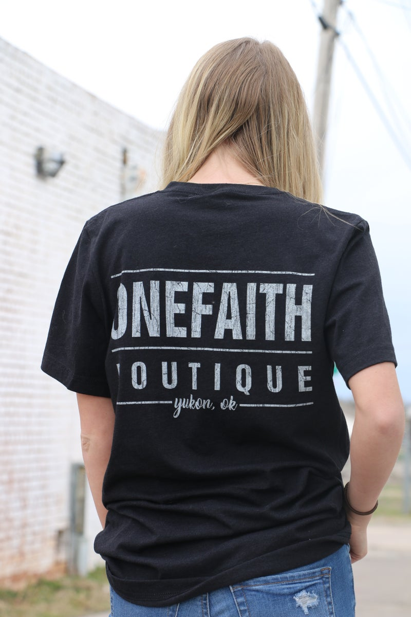 One Faith Boutique Signature Graphic Tee - Sizes 4-20
