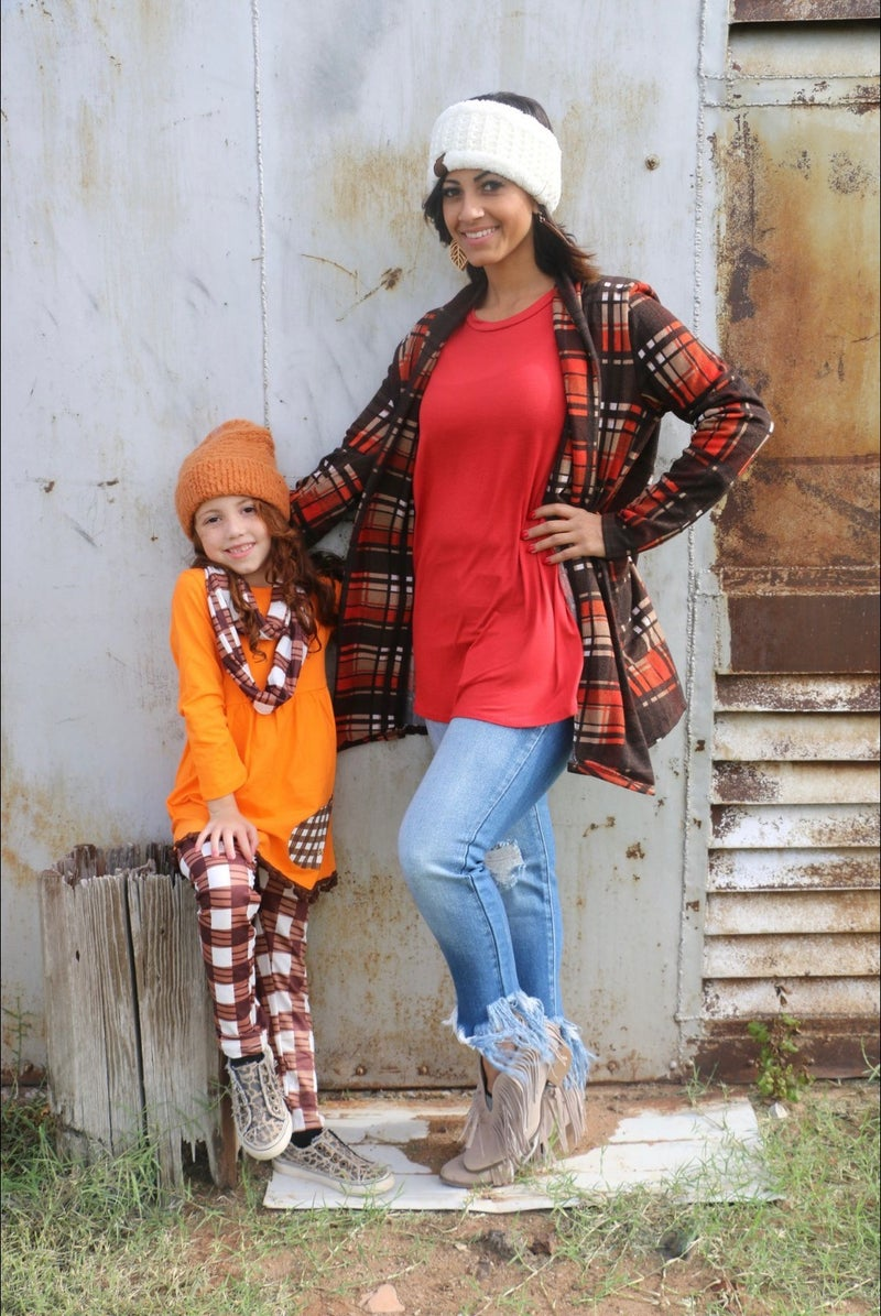 Mommy's Little Pumpkin Orange Tunic - Sizes 6M - 8Y