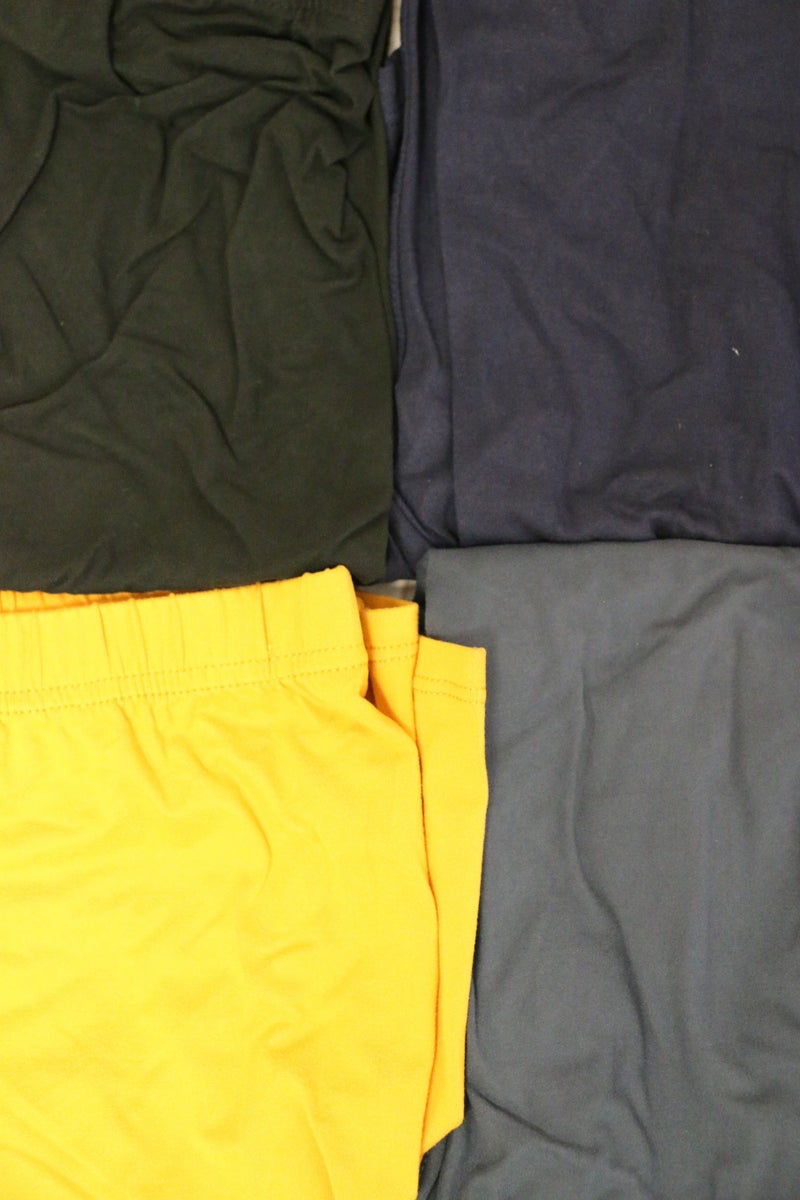 You're Too Much Solid Colored Biker Shorts- Sizes 12-20