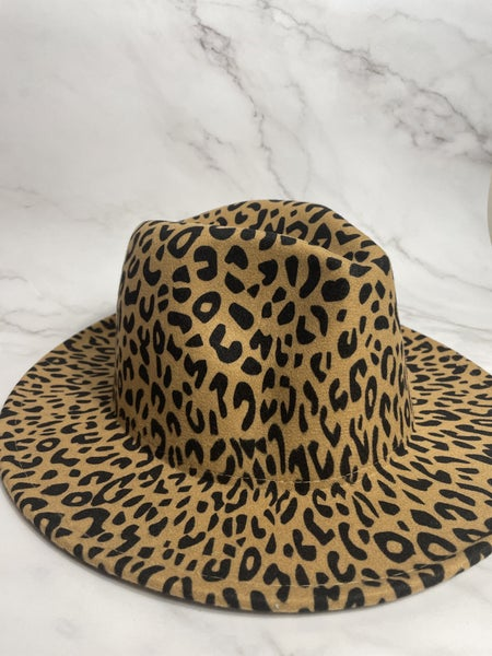 Cassidy's Favorite Leopard Hat In Multiple Shades