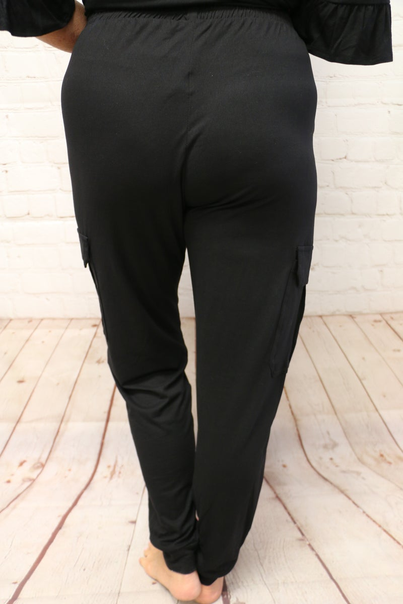 Come Just As You Are Super Soft Cargo Joggers - Sizes 4-14