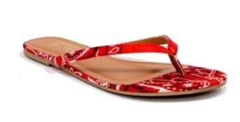 Southern Love Bandana Flip-Flop in Multiple Colors - Sizes 5.5-10