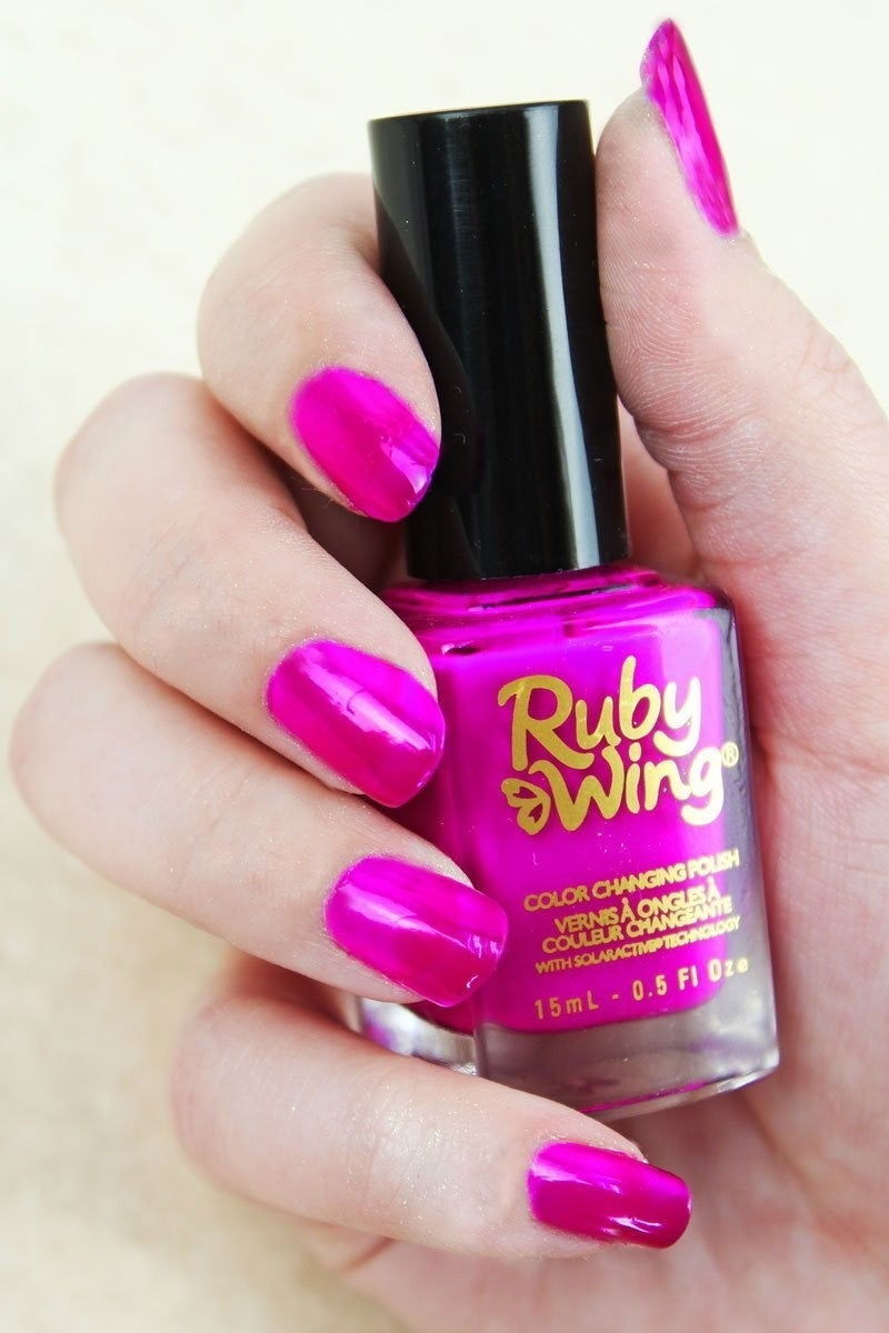 Be A Fashionista Color Changing Nail Polish
