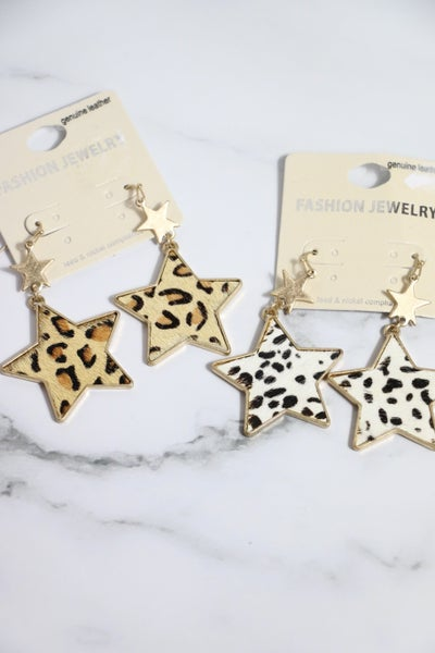 Twinkle Double Star Animal Prints In Multiple Colors