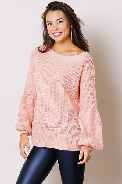 True To Myself Comfy Off The Shoulder Sweater In Multiple Colors - One Size Fits Most 4-12