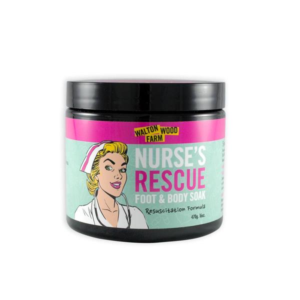 Nurse's Rescue Foot & Body Epsom Salt Soak