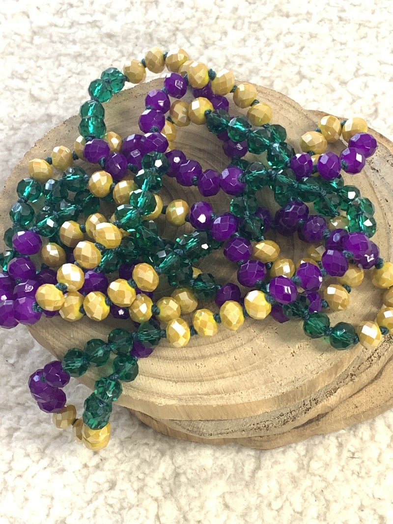 Fat Tuesday Point Of Perfection Beaded Necklace