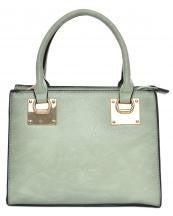 Oh So Cute Solid Vegan Handbag in Multiple Colors