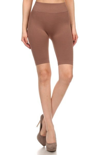 Not Your Average Spandex Biker Short in Multiple Colors - One Size