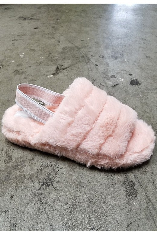 Only the Best Super Soft Pink House Shoe - Sizes 5.5-10