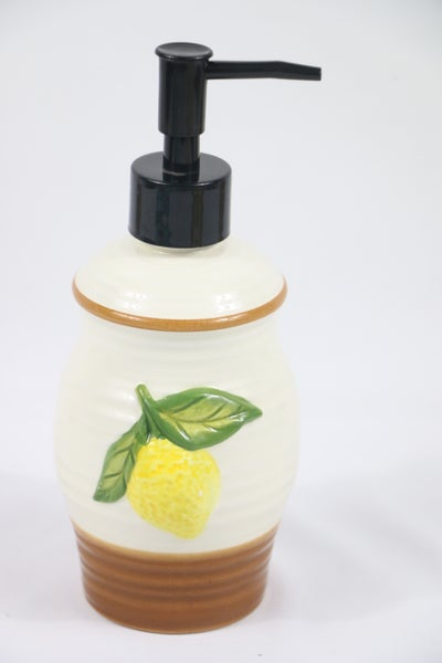 Happiness Lemon Soap Dispenser