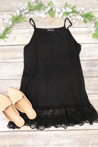 The Perfect Lace Extender in Black - Sizes 4-20