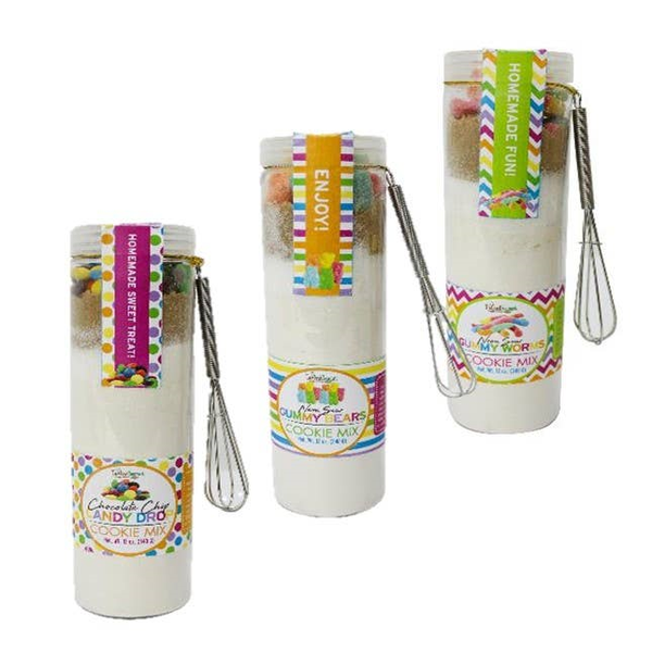 Making Memories Candy Cookie Mix with Small Whisk in Multiple Flavors *Final Sale*