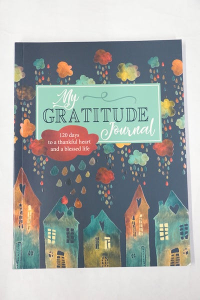 My Gratitude Colorful Rain Journal