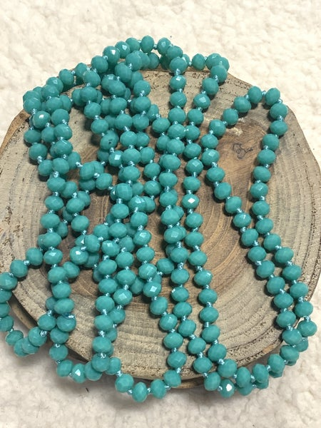 Turquoise Petite Point Of Perfection Beaded Necklace