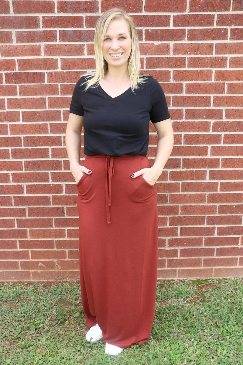 Places To Go Maxi Skirt in Multiple Colors - Sizes 4-20