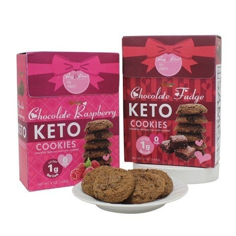 Your Favorite Valentine Limited Edition KETO Cookies in Multiple Flavors