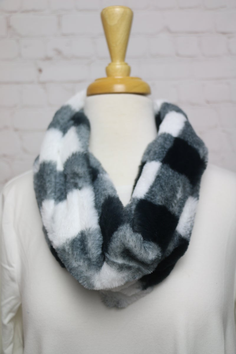 Falling in Love Super Soft Buffalo Plaid Infinity Scarf in Multiple Colors