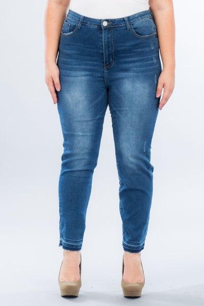 The Janell Dark Denim Jeans - Sizes 12-20