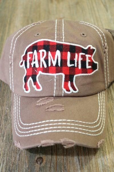Farm Life Ball Cap In Multiple Colors