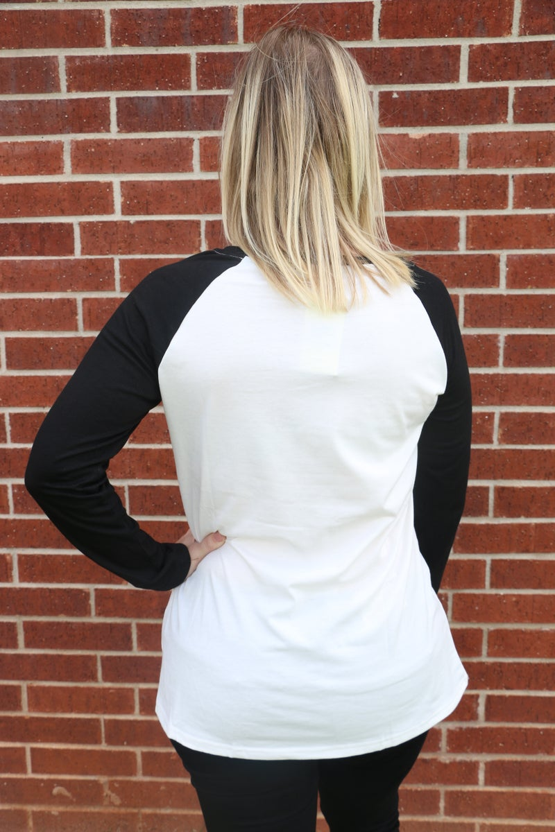 Old Truck Simply Blessed Raglan Top - Sizes 4-20