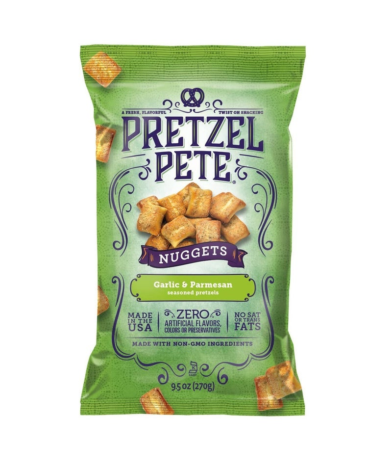 Pretzel Pete Seasoned Pretzel Nuggets in Multiple Flavors - 9.5 OZ Bag *Final Sale*