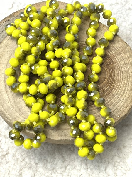 Bumblebee Point Of Perfection Beaded Necklace