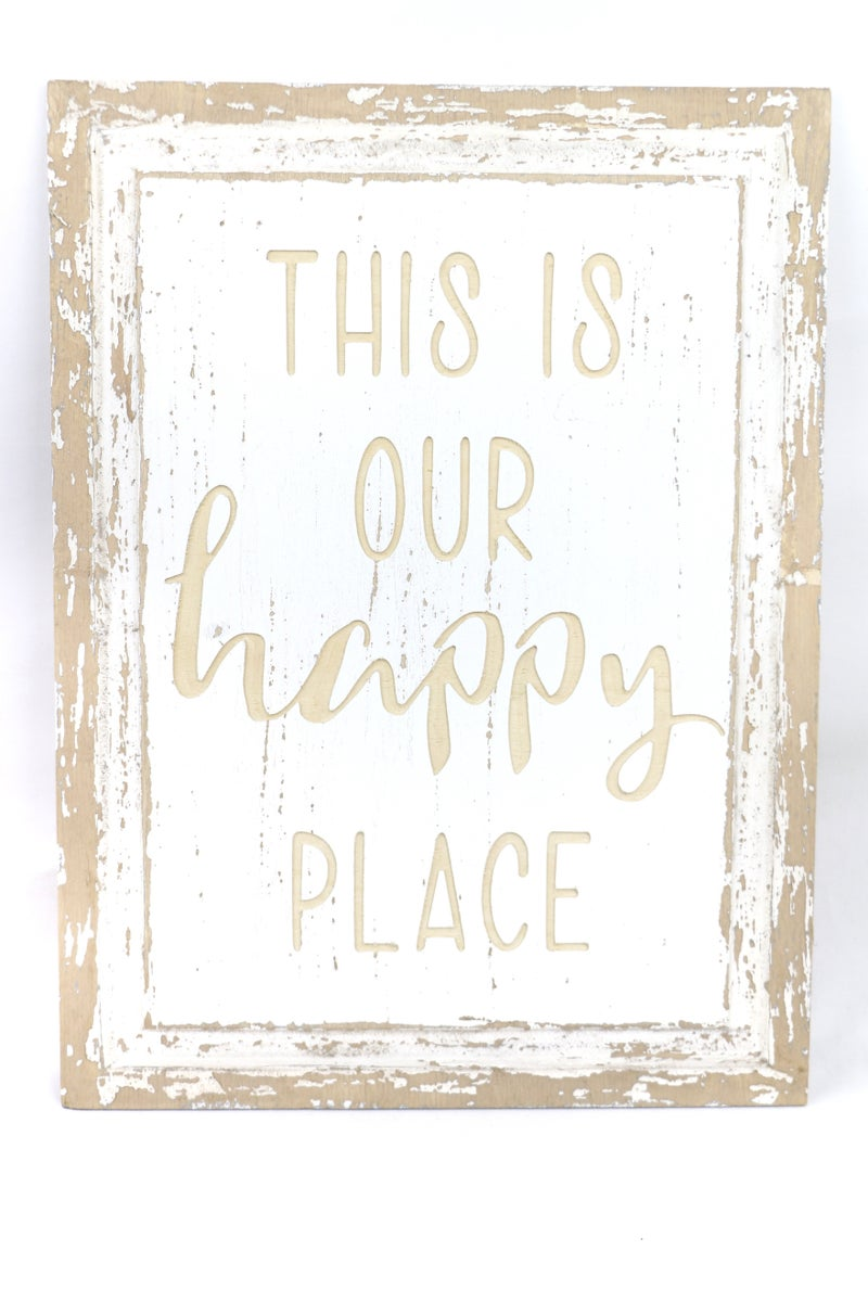 Wooden Laser Engraved signs In Multiple Sayings