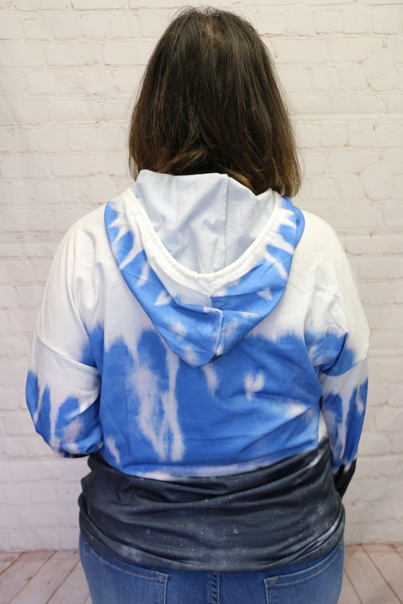 It's My Reality Lightweight Tie Dye Hoodie in Multiple Colors - Sizes 4-20