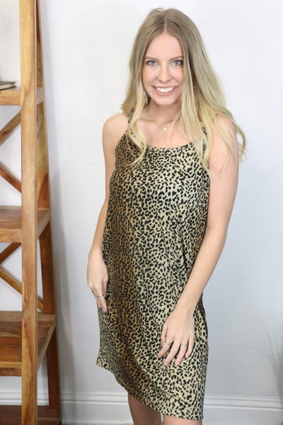 Puuuurfect in Every Way Spaghetti Strap Dress - Sizes 8 - 16