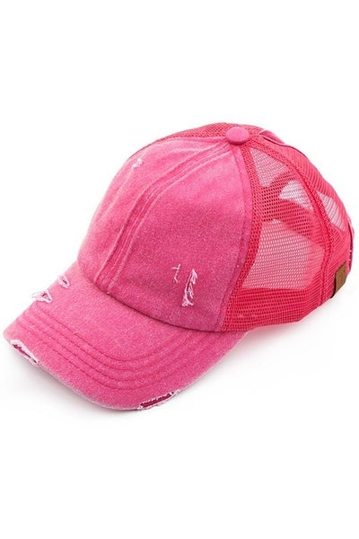 The Perfect Ponytail Ballcap - CC Brand - Multiple Colors