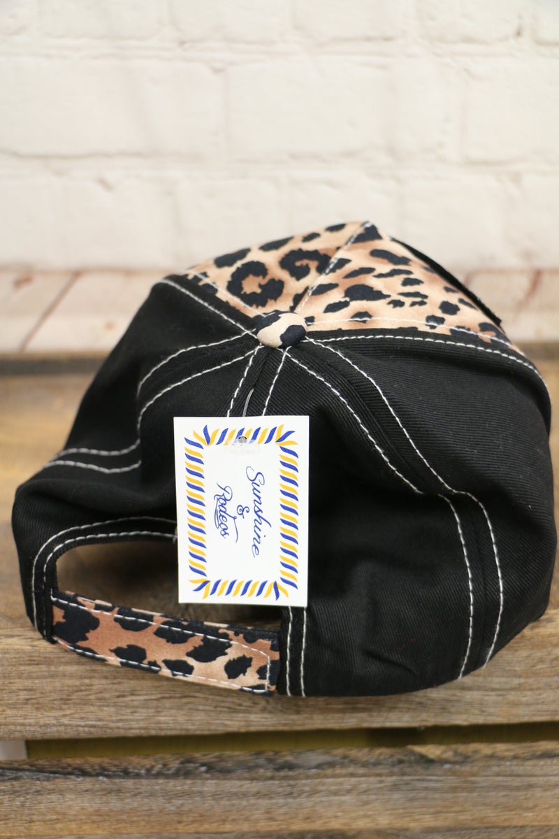 Leopard and Cow Baseball Cap