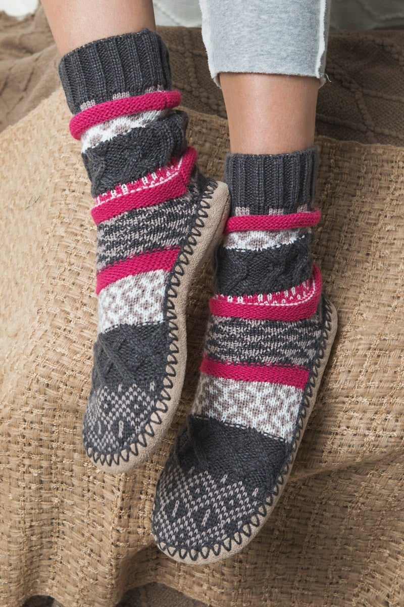 It's Cold Outside Nordic Slipper Boot in Multiple Colors - Sizes 6-10