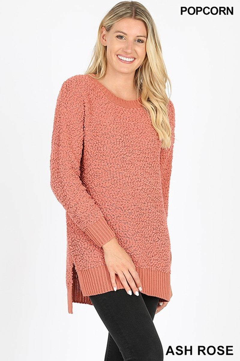 Just You Wait Popcorn Sweater in Multiple Colors - Sizes 4-20