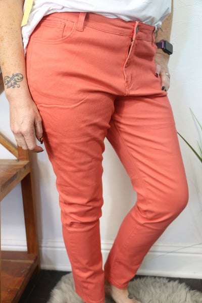 The Summer High Waist Skinny Jean in Multiple Colors - Sizes 8-20