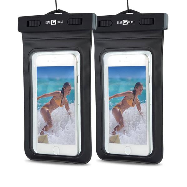Waterproof Cell Phone Dry Bag in Multiple Colors