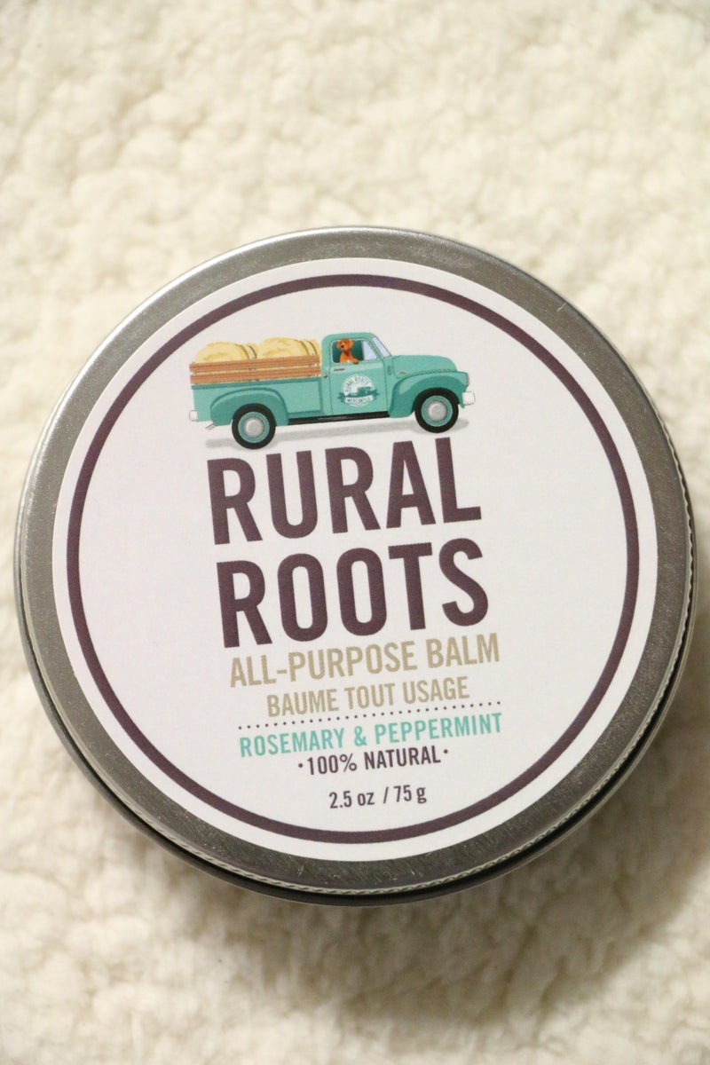 Rural Roots All Purpose Balm- Rosemary & Peppermint