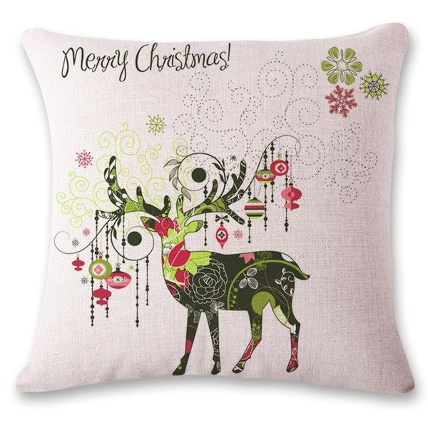 Holiday Inspired Pillow Covers in Multiple Prints