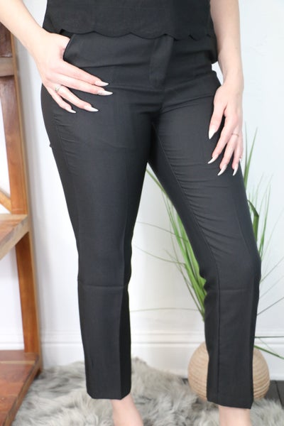 Take Me Back Dress Pant in Multiple Colors - Sizes 4-10