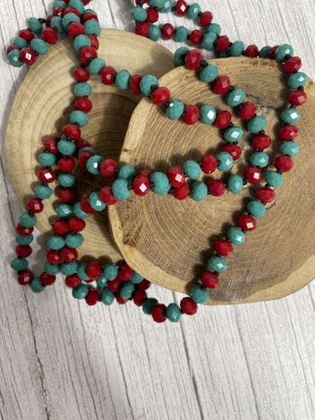 Bozo Point of Perfection Beaded Necklace