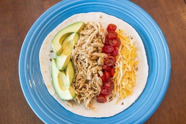Crockstar Chicken Ranch Tacos - Low Carb, Gluten & Soy Free
