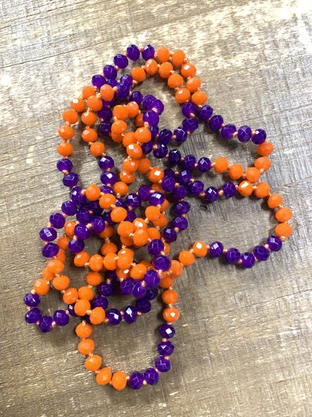 Tigers Point Of Perfection Beaded Necklace